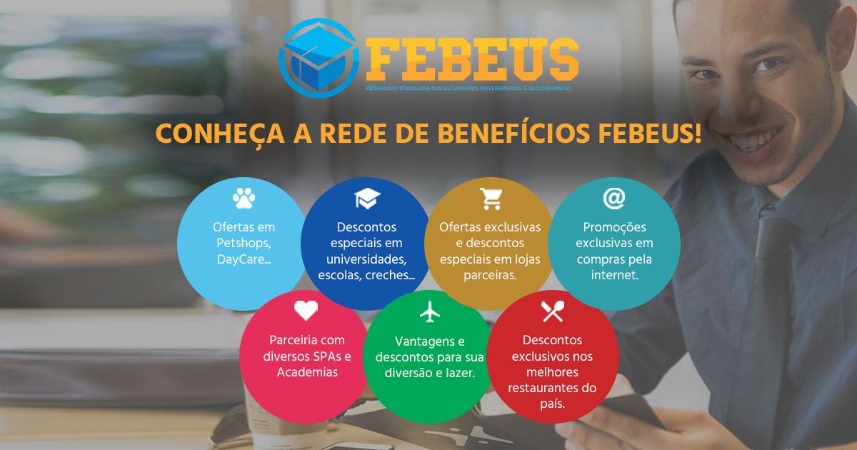 Compras Online - FEBEUS - Federação Brasileira dos Estudantes  Universitários e Secundaristas bd40f685040bd